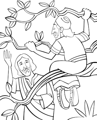 luke 19 10 coloring pages - photo#37