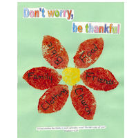 dont worry be thankful