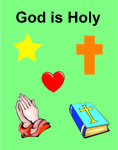god is holy